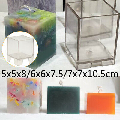 Making Candle mould Candle Mold Plastic Clear Transparent Durable Sale Stock