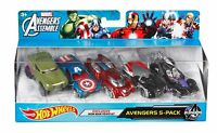 Hot Wheels Marvel Avengers Die-cast Vehicle (5-pack) , New, Free Shipping on sale