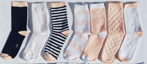 7*er.Kinder Mächen Socken.Strümpfe.Baumwolle.Gr.31//34 NEU