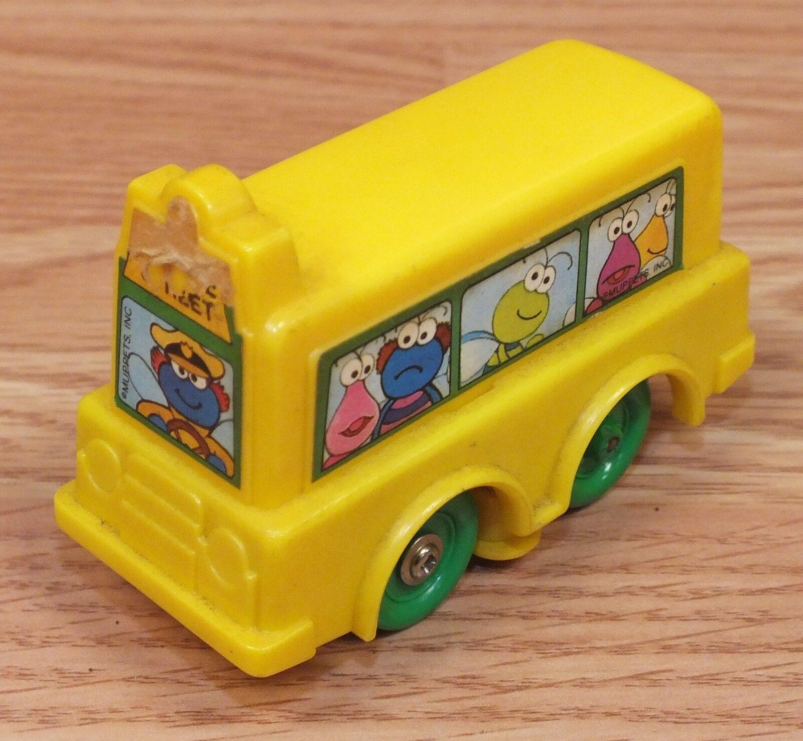 Genuine Vintage 1988 Playskool Toybox Muppets Trolly Car   Tram Only READ
