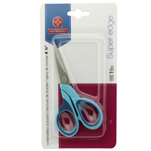 "Mundial Super Edge 4-1//4/"" Embroidery Scissors"