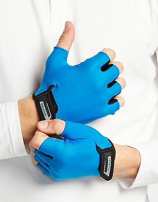 Solbari Sun Protection UPF50 UV Protective Fingerless Gloves Cotton Bamboo
