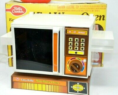 Miniature 1:24 scale TINY original 1960/'s EASY BAKE OVEN Dollhouse EMPTY TOY BOX