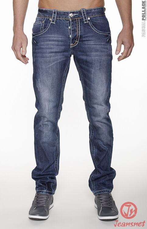 Hommes Jeans Pantalons Jeans Style Bleu Club Denim-style Clubwear Jeansnet J.4.3