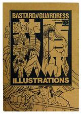 BASTARD !! ARTBOOK Guadress Kazushi Hagiwara Illustrations JAPON 1995 1st Print