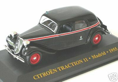 CITROEN TRACTION 11 TAXI DE MADRID 1955 IXO JUNIOR 1:43