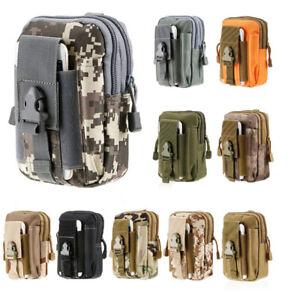 Detalles de Cinturón táctico molle bolsa paquete de la Cintura Bolsa Militar Bolsillo del teléfono paquete de la cintura ver título original