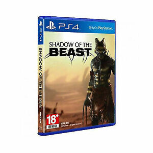 Shadow of The Beast Ps4 English Subtitle Physical Game Disc - US SELLER