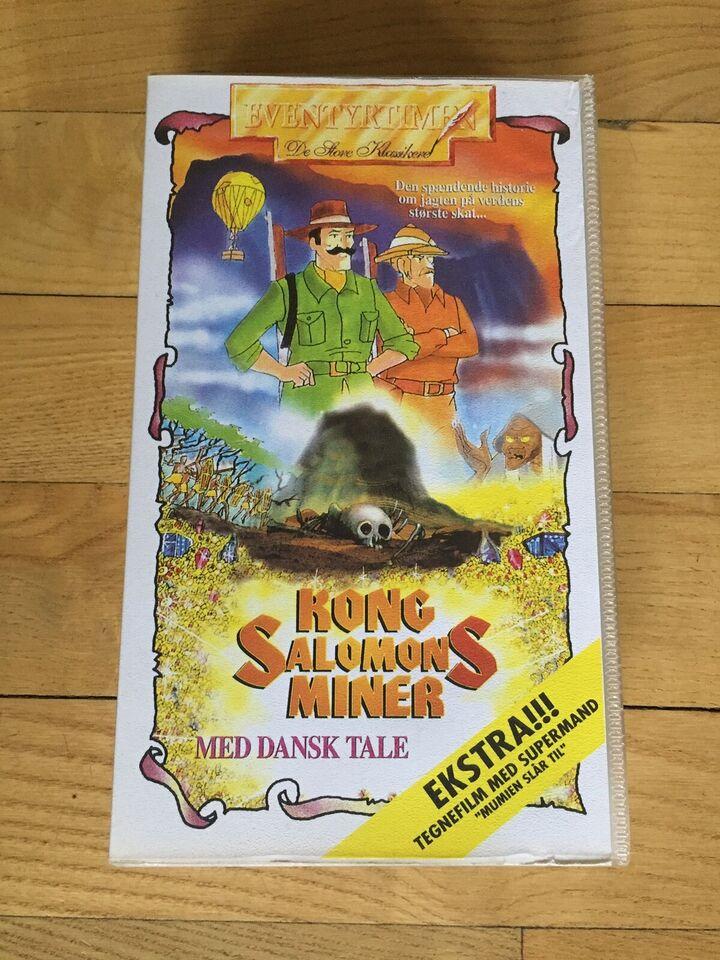 Tegnefilm, Kong Salomons Miner