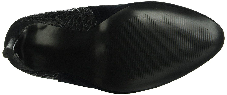 Los últimos zapatos de descuento para hombres y mujeres PVP  otro par de zapatos Negro Tacón Alto Botas al Tobillo BNWB