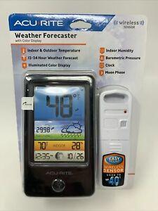 AcuRite-Color-LCD-Weather-Forecaster-Compact-Weather-Monitor