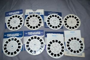 8 VIEW MASTER SINGLE REELS WITH VIEWS OF HOLLAND AS LISTING