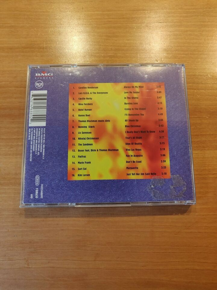 Blandede: Burning Love - Den Danske Hyldest til Elvis