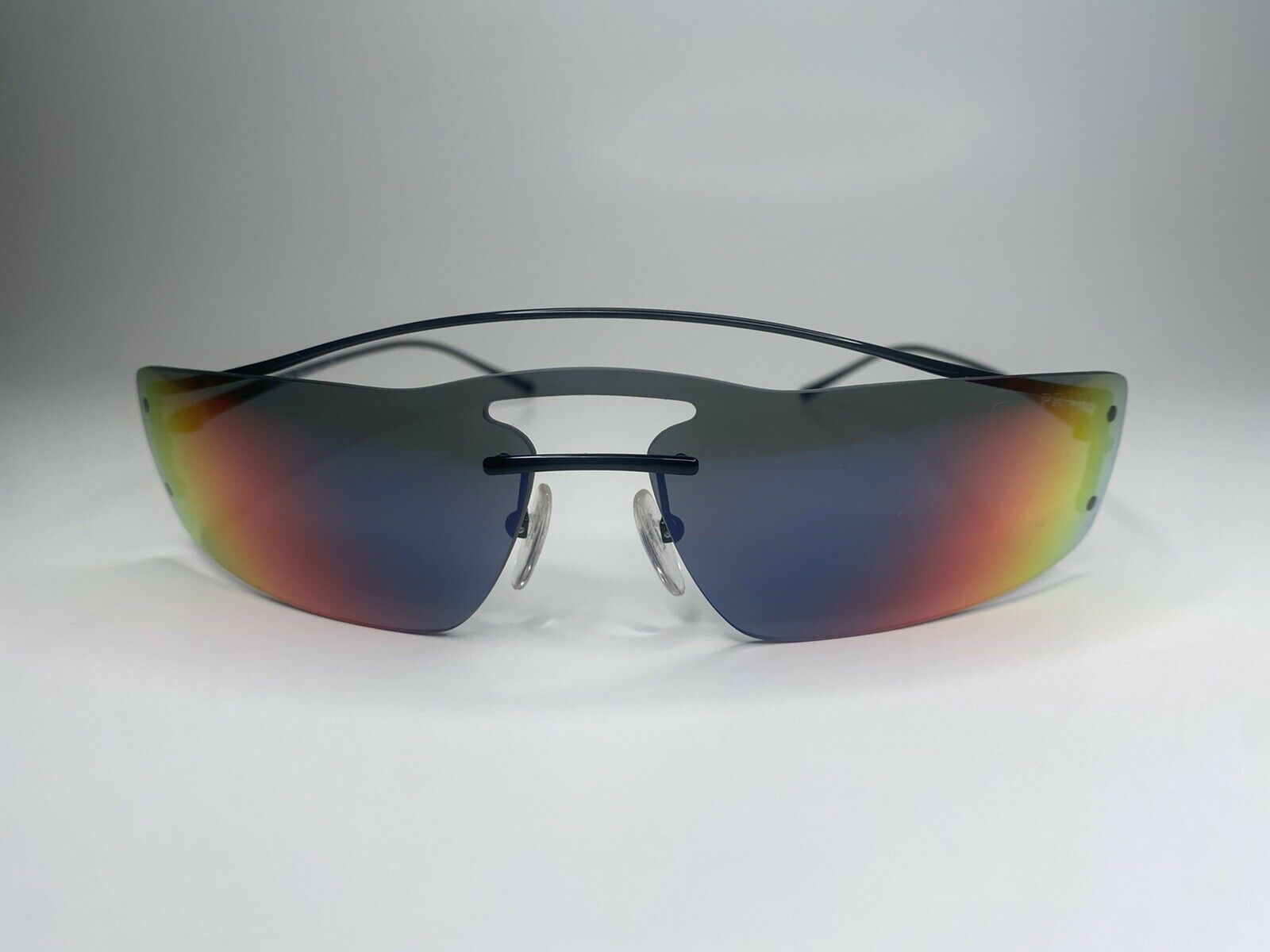 Prada Sunglasses Runway Rainbow 90's - image 2