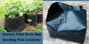 G-7-pcs-Nursery-Plant-Grow-Bag-Seedling-Pots-Container-Plastic-planting-Bags