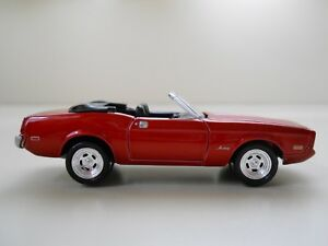 Image Is Loading Johnny Lightning Pony 1973 Ford Mustang Convertible