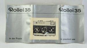 Rollei-35-Camara-Manual-Instrucciones-Usuario-Guia-Ingles-Aleman-AC-416