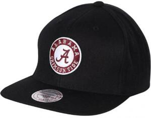 Mitchell-amp-Ness-Alabama-Crimson-Tide-equipe-Solid-vr26z-NCAA-Snapback-Cap-Basecap