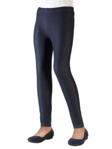 Knit Denim Girls Vivian/'s Fashions Long Leggings