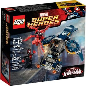 NEW-LEGO-Marvel-Super-Heroes-Ultimate-SpiderMan-76036-Carnages-SHIELD-Sky-Attack