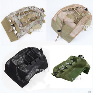 FMA-Tactical-Airsoft-FAST-Helmet-Cover-For-Fast-Helmet-BK-DE-Multicam-TB1310
