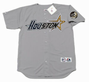 online store d612b 03892 Details about JEFF BAGWELL Houston Astros 1999 Majestic Throwback Away  Baseball Jersey