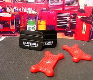 Dollhouse Miniature Red Metal Garage Shop Creeper G8651