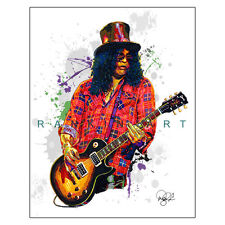 """Slash Guns N' Roses Velvet Revolver 11x14"""" Music Guitar Art Print Poster"""