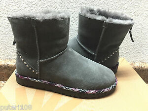 e0b2a6cf8de Details about UGG EXCLUSIVE CLASSIC MINI ROCK CHARCOAL BOOT US 8 / EU 39 /  UK 6.5