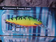 """Salmo 3 1//8/"""" Perch Deep Minnow Lure PH8SDR HP in Color Hot Perch for BASS//PIKE"""