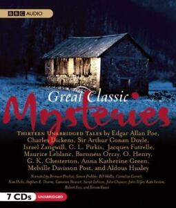 Great-Classic-Mysteries-by-Various-Authors-2010-Unabridged-CD-9781602839359