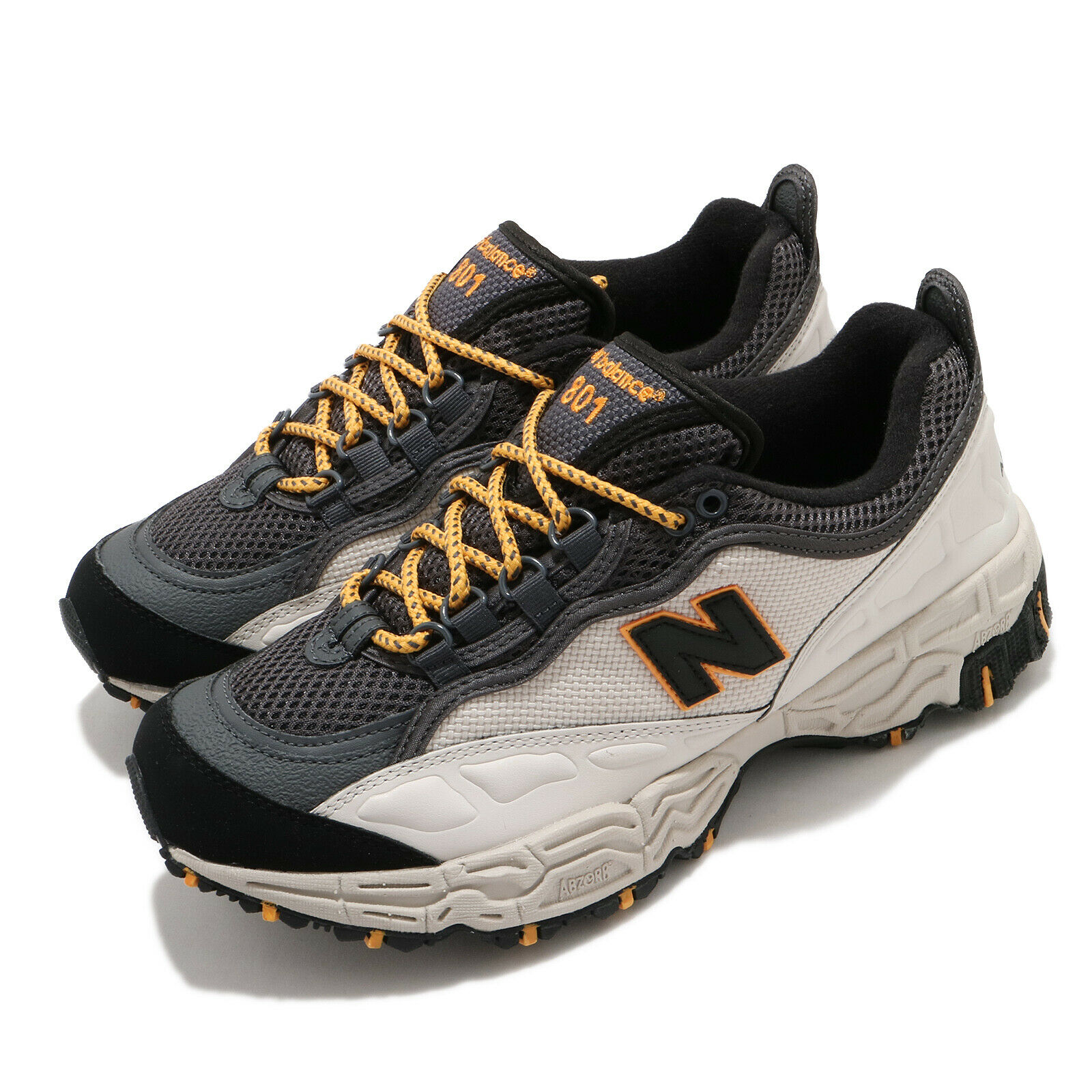 New Balance 801 Beige Black Yellow Grey Men Trail Running Lifestyle ML801NCY D