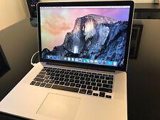 "Apple Mac Book Pro Retina Display 15"""