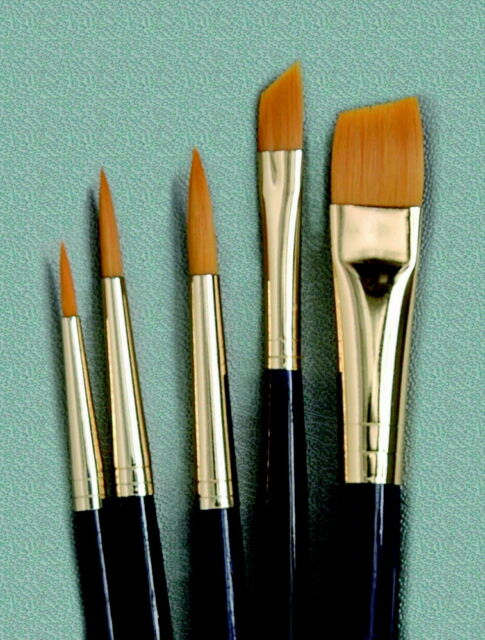 Princeton 9139 Economy Assorted Trim Paint Brush Set, Assorted Sizes, Set of 5