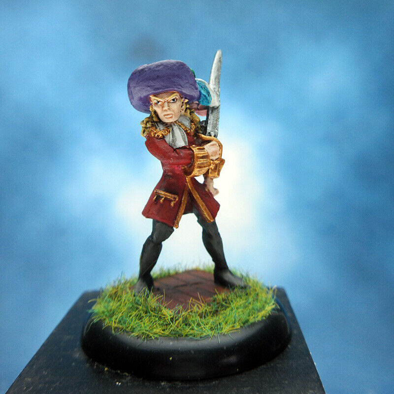 Painted RAFM Miniatures Female Pirate