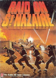 Avalon-Hill-Raid-on-St-Nazaire-Solitaire-Game-PDF-Reference-Disc-Free-UK-P-amp-P