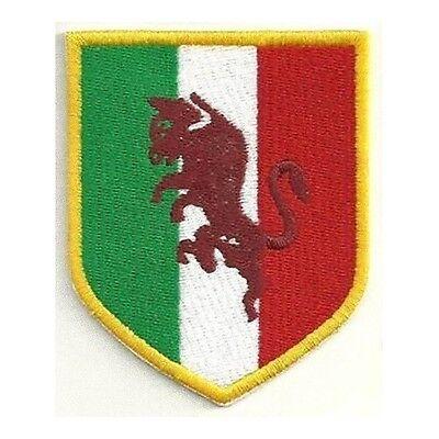 Ingegnoso [patch] Scudetto Toro Replica Cm 7x8,5 Toppa Ricamata Ricamo Grande Torino -142 Calcolo Attento E Bilancio Rigoroso