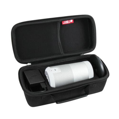Hard Travel Triple Case for Bose SoundLink Revolve Bluetooth Speaker Charging