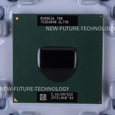 SL7VB- Intel Pentium M 780 2.26 GHz 2 MB 533 MHz Socket 479 CPU US free shipping