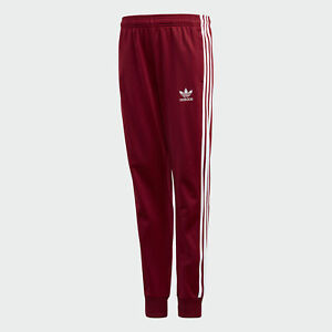 great prices great deals good out x Adidas Kid's Originals SST Track Pants Collegiate Burgundy DH2658 ...