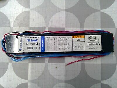 UNIVERSAL 120-277V ELECTRONIC BALLAST B232IUNVHP-N NNB