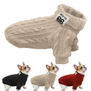 Dog-Sweater-Jacket-Small-Pet-Winter-Clothes-Knitwear-Puppy-Clothing-Warm-Apparel
