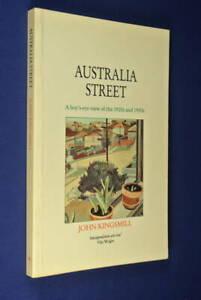 AUSTRALIA-STREET-John-Kingsmill-BOOK-SYDNEY-BONDI-1920s-1930s-BIO-book-australia