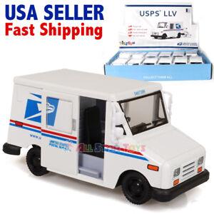 Kinsfun USPS LLV United States Postal Service Delivery Toy Truck 1:36 Kinsmart