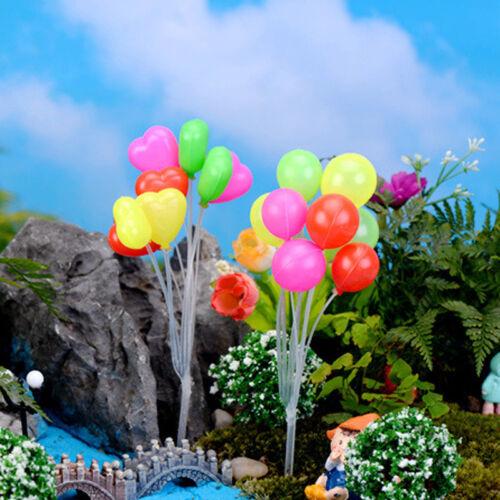 Figurine Fairy Miniaturen Garten Ornament Ballon Figur Mini Pflanze Dekoration