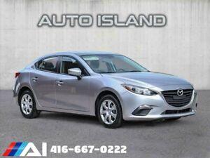 2015 Mazda 3 GX**SPORTY 5 SPD MANUAL**LOW KMS!!