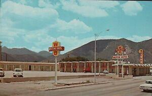 AZ-Arizona-WHITING-BROS-MOTEL-Flagstaff-AZ-Old-Cars