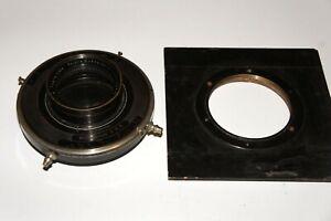 ULTRA-RARE-Tripple-Convertible-Velostigmat-31-7-cm-F6-3-Lens-WOLLENSACK-SHUTTER