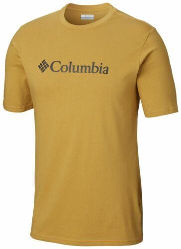 COLUMBIA CSC Basic Logo JO1586718 Baumwolle T-Shirt Kurzarm Shirt Herren Neuheit