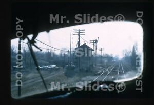 Original-Slide-GM-amp-O-Gulf-Mobile-amp-Ohio-View-From-Cab-Springfield-IL-1973